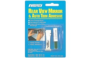 ABRO REAR VIEW MIRROR & AUTO TRIM ADHESIVE